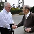 Rob Devine and Dr. Gough