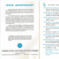 1965-66 10th Anniversary Catalog Introduction