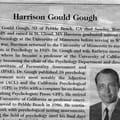 Dr. Gough's Obituary