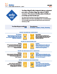 MBTI® Step I™ Profile (Form M)