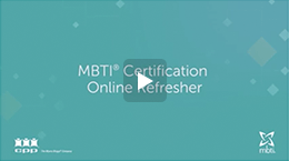 MBTI Certification Online Refresher